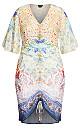 Zambia Mirror Dress - ivory