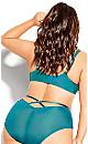 Plus Size Sexy Glam Balconette T-Shirt Bra - emerald