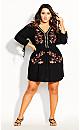 Plus Size Amazonian Dress - black