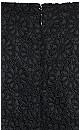 Lace Vibe Playsuit - black