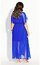 Spirited Maxi Dress - cobalt