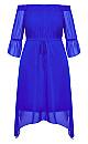 Reflections Dress - cobalt