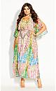 Anise Mirror Maxi Dress - ivory