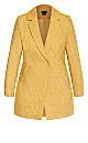 Textured Bliss Coat - gold