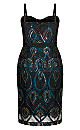 Exquisite Dress - emerald