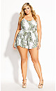 Oahu Playsuit - white