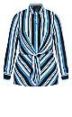 Moody Stripe Tunic - azure