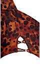 Plus Size Gidget Print 1 Piece - leopard print