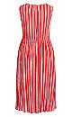 Summer Sunset Stripe Maxi Dress - tigerlily