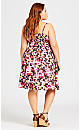 Brittany Print Dress - pink