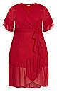 Pacha Dress - red