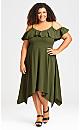 Margo Maxi Dress - khaki
