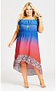 Kasba Dress - blue
