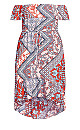 Medina Dress - red