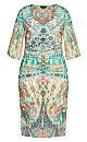 Plus Size Budapest Dress - ivory