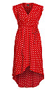 Red Love Maxi Dress - red