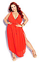 Plus Size Sunlover Maxi Dress - tigerlily