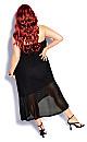 Plus Size Sunkissed Dress - black