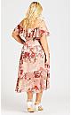 Amy Bouquet Dress - blush