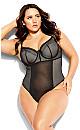 Celinda Bodysuit - black
