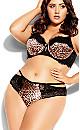 Plus Size Mimi Thong - leopard print