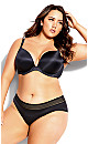 Adore Back Smoother Push Up Bra - black