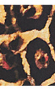 Plus Size Kira Leopard Kaftan - tan
