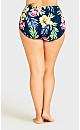 Plus Size Playa Swim Brief - emerald