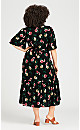 Plus Size Antonia Dress - black