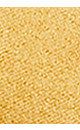 Plus Size Penny Perforated Slide - mustard