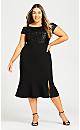 Maci Sequin Dress - black