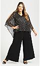 Plus Size Evie Jumpsuit - black
