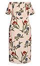Plus Size Amelie Dress - blush