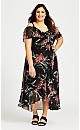 Amy Decadence Dress -  black
