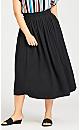 Plus Size Chelsea Skirt - black