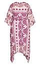 Plus Size Event Hanky Hem Dress - lilac