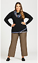 Plus Size Luxe Cool Hand Tummy Control Pant