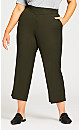 Luxe Cool Hand Tummy Control Pant Olive - average