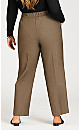 Plus Size Luxe Cool Hand Slimming Pant With Tummy Control - grey