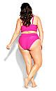 Lucia Bikini Top - hot pink