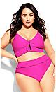 Lucia Bikini Brief - hot pink