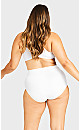 Plus Size Smooth Embrace Brief - white