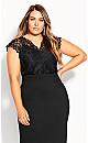 Pretty Lace Bodysuit - black