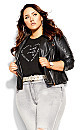 Plus Size All Heart Tee - black