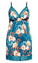 Plus Size Amy Chemise - teal