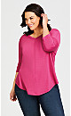 Plus Size Tammy Top - pink