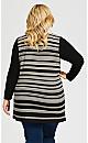 Plus Size Fallon Tunic - stripe