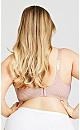 Plus Size Soft Caress Fashion Bra - pink