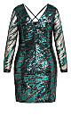 Plus Size Divinity Dress - emerald