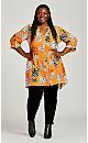 Plus Size Samara Blouse - golden